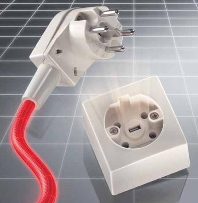 Perilex stekker aansluiten perilex stopcontact aanleggen keuken elektra